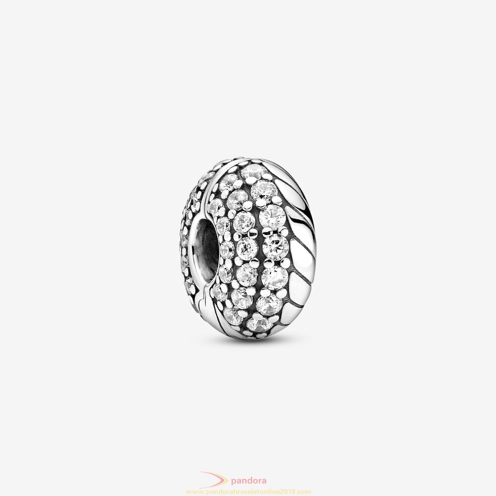 Find Pandora Jewelry Pavé Snake Chain Pattern Clip