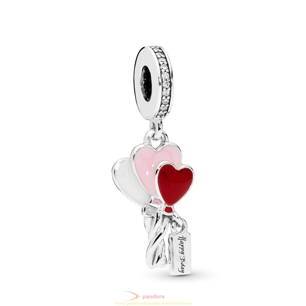 Find Pandora Jewelry Heart Balloons Dangle Charm