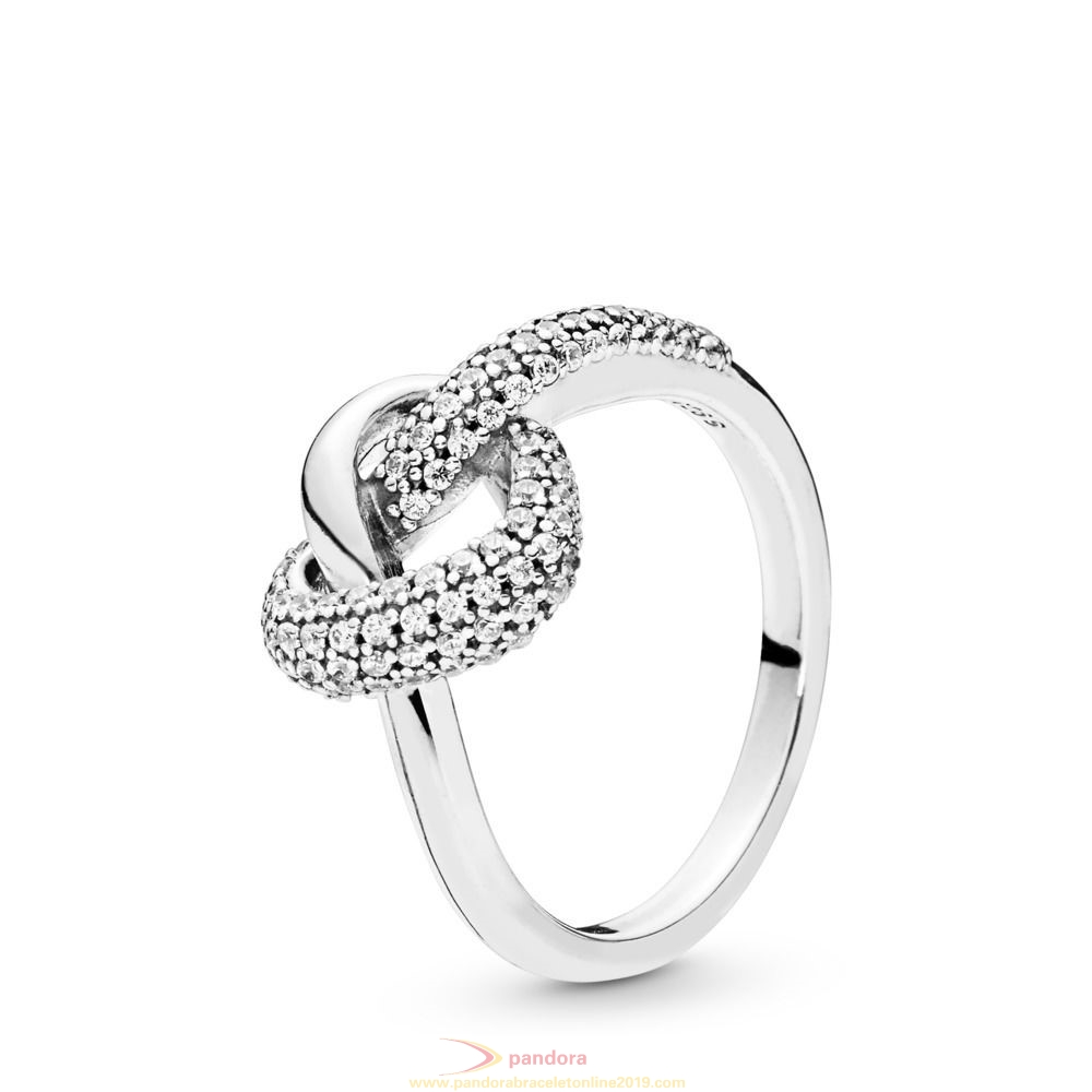 Find Pandora Jewelry Knotted Heart Ring