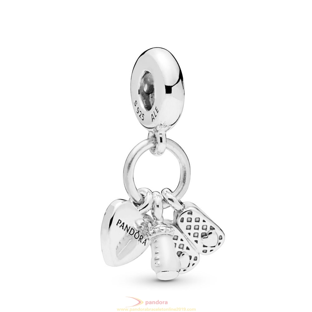 Find Pandora Jewelry My Little Baby Dangle Charm