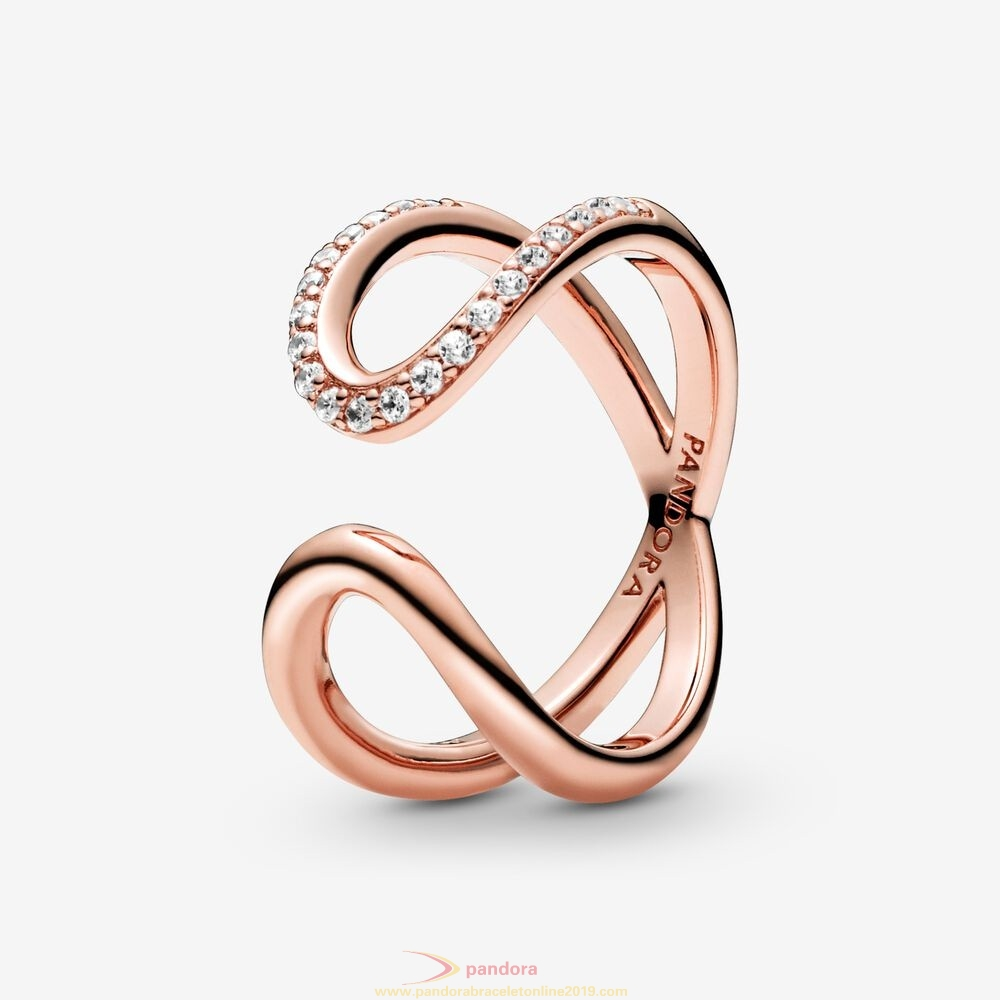 Find Pandora Jewelry Wrapped Open Infinity Ring