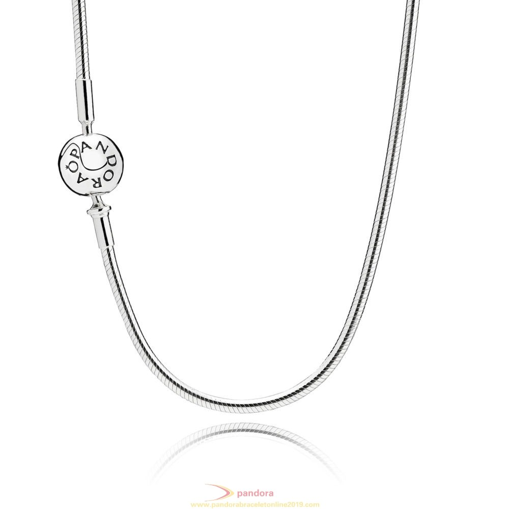 Find Pandora Jewelry Essence Collection Silver Necklace