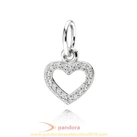 Find Pandora Jewelry Pandora Pendants Be My Valentine Pendant Clear Cz