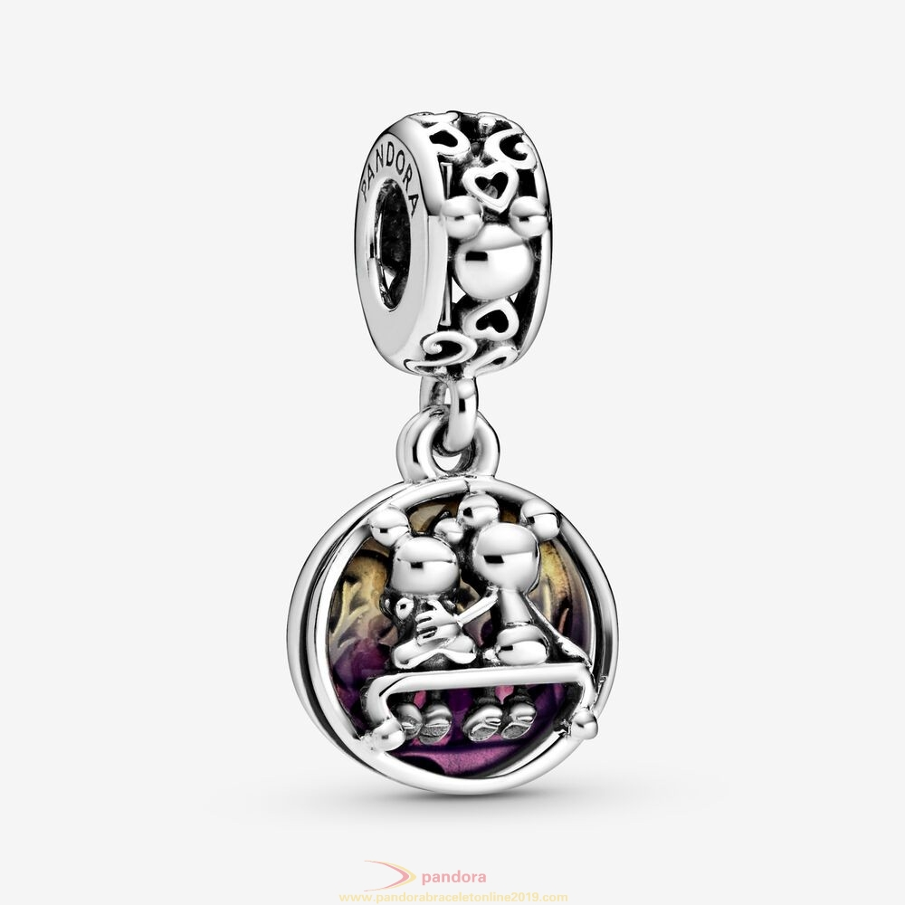 Find Pandora Jewelry Disney Mickey Mouse & Minnie Mouse Happily Ever After Dangle Charm