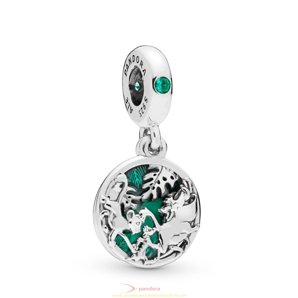 Find Pandora Jewelry Disney Simba, Pumbaa And Timon Hanging Charm