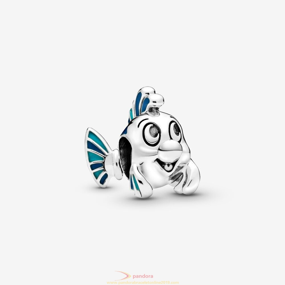 Find Pandora Jewelry Disney The Little Mermaid Flounder Charm