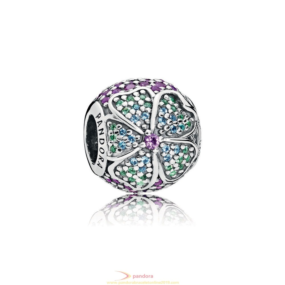 Find Pandora Jewelry Glorious Bloom Multi Colored Cz