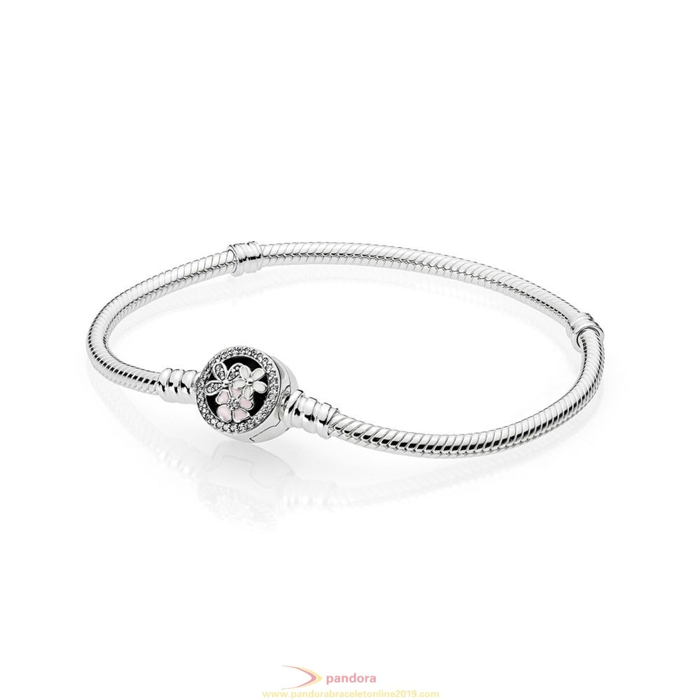 Find Pandora Jewelry Pandora Moments Bracelet With Poetic Blooms Clasp