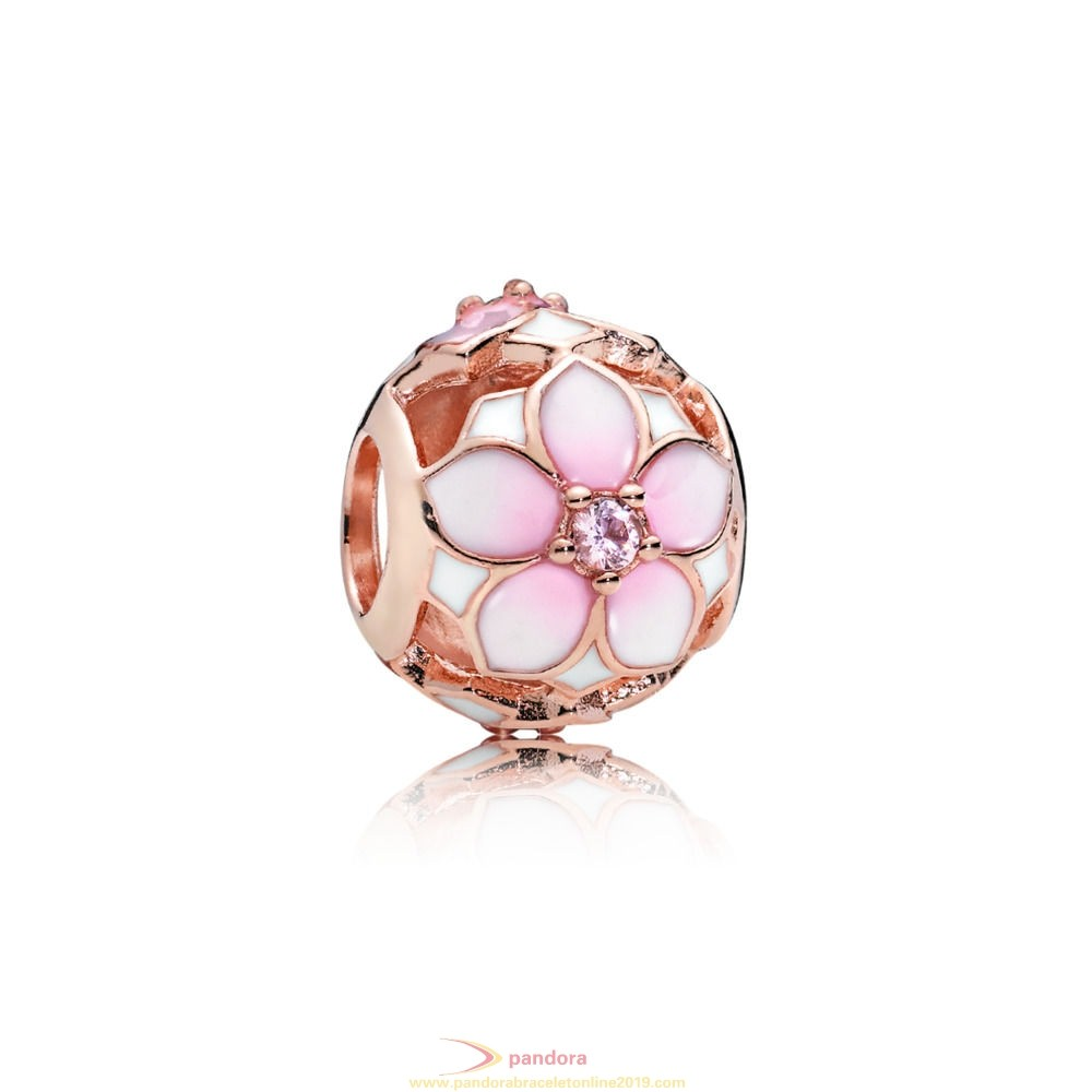Find Pandora Jewelry Pandora Rose Magnolia Bloom Charm