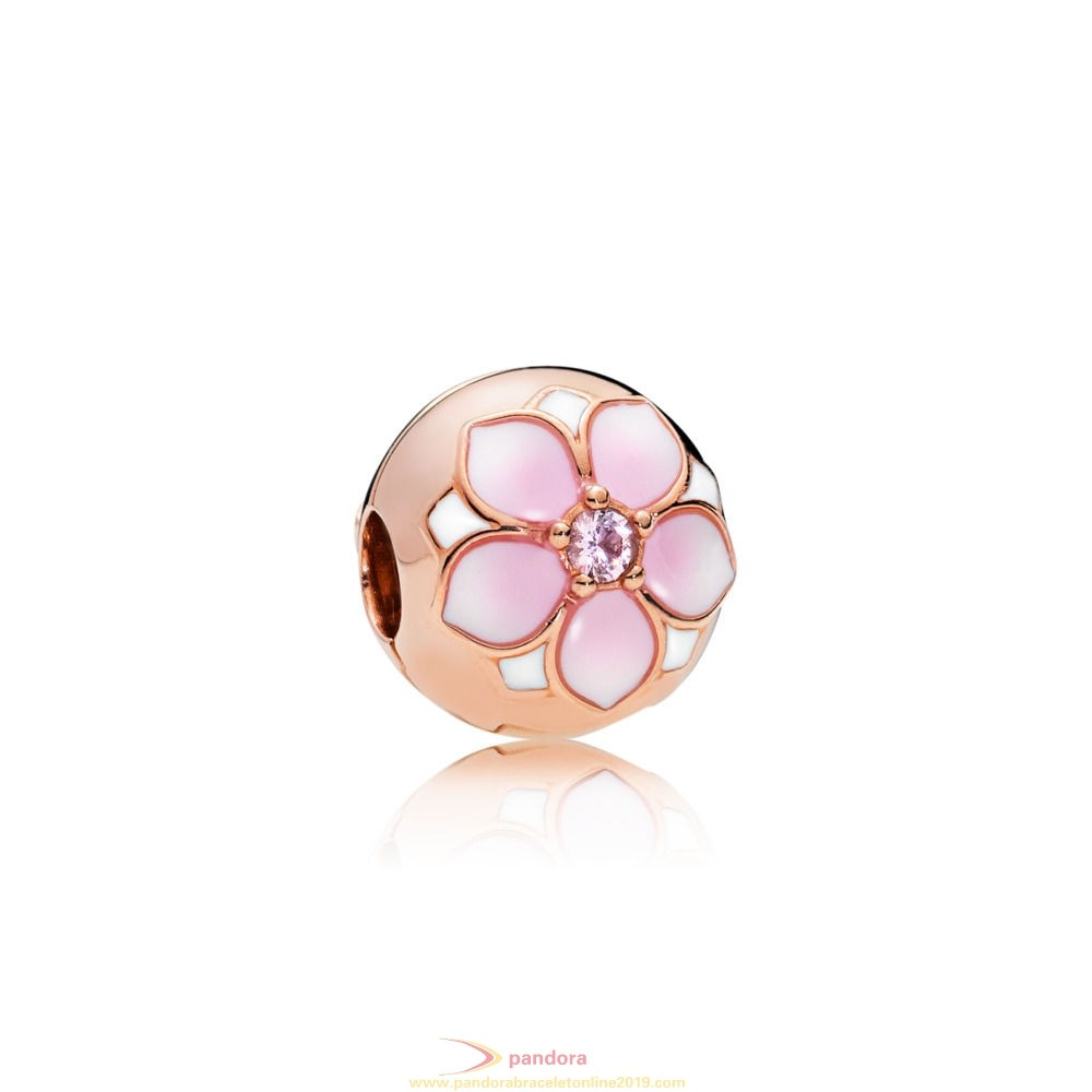 Find Pandora Jewelry Pandora Rose Magnolia Bloom Clip