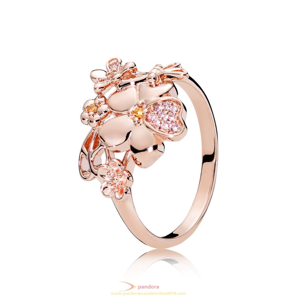 Find Pandora Jewelry Pandora Rose Wildflower Meadow Ring