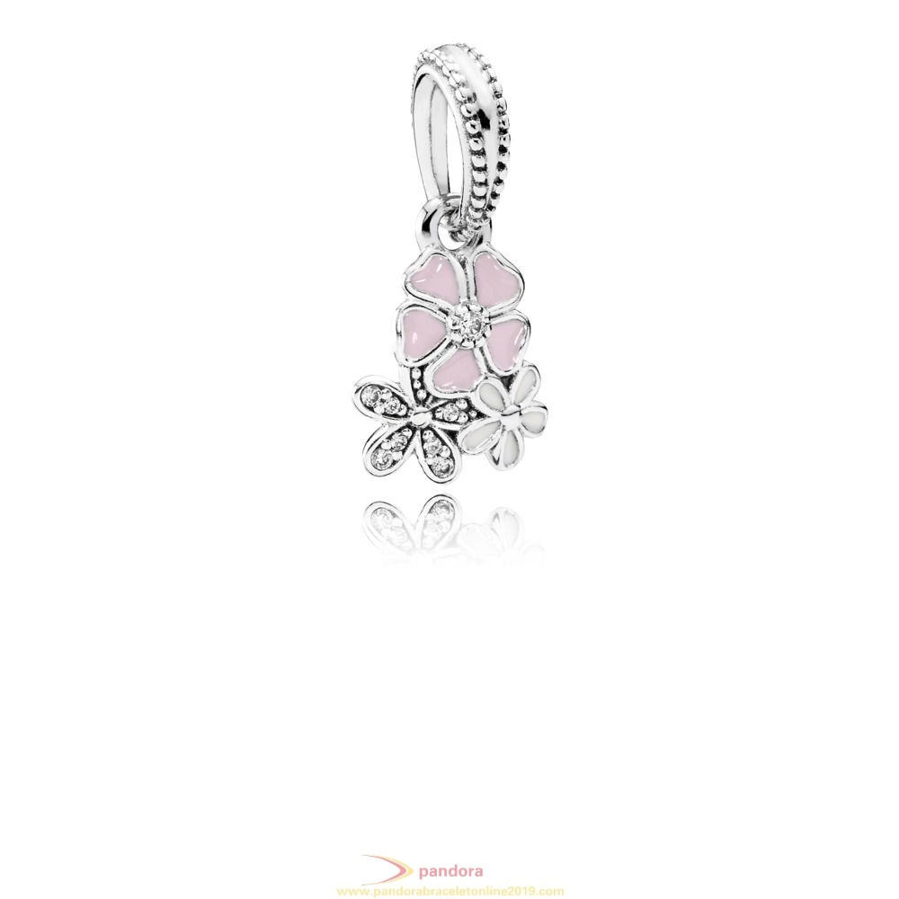Find Pandora Jewelry Poetic Blooms Hanging Charm