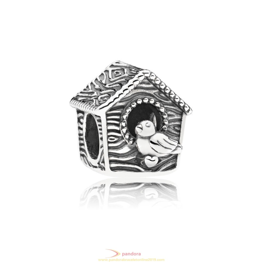 Find Pandora Jewelry Spring Bird House Charm