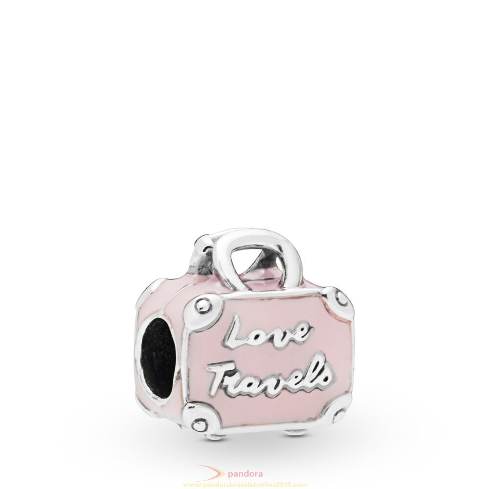 Find Pandora Jewelry Pink Travel Bag Charm