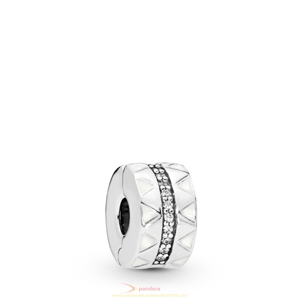 Find Pandora Jewelry Sparkling Jagged Lines Clip