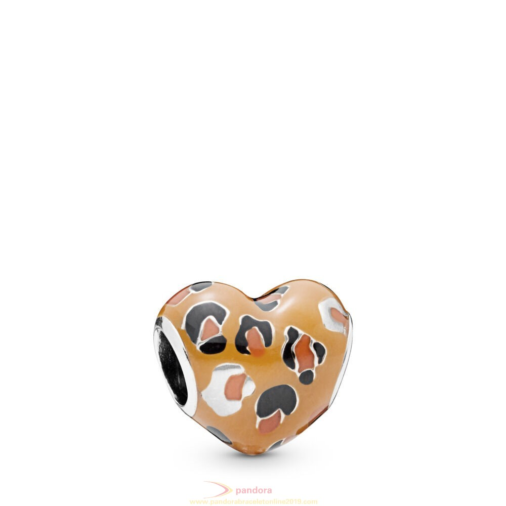 Find Pandora Jewelry Spotted Heart Charm