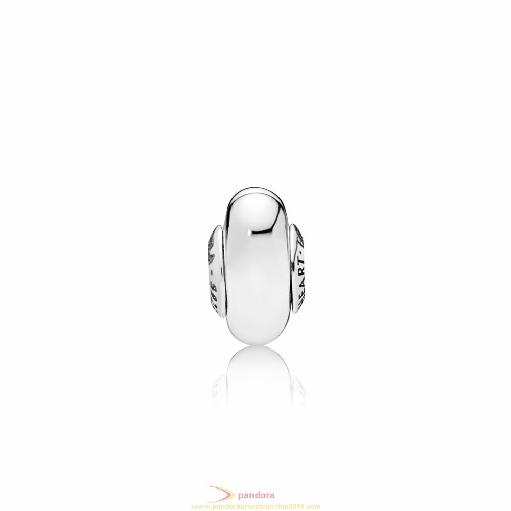 Find Pandora Jewelry Follow Your Heart Essence Spacer Charm