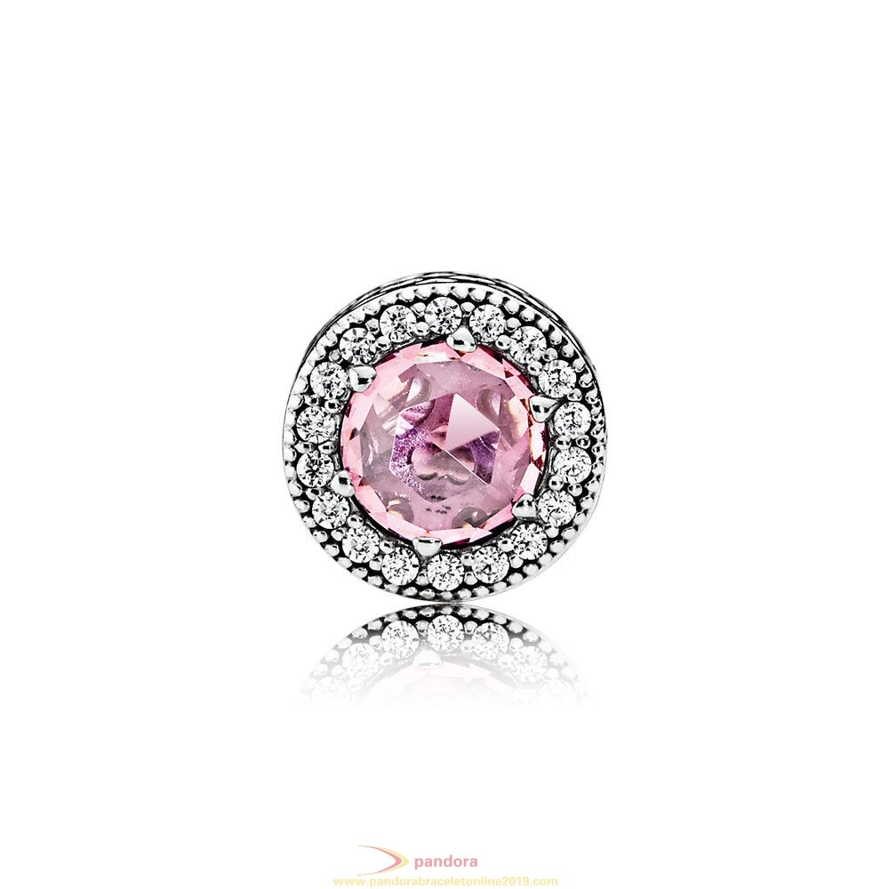 Find Pandora Jewelry Pandora Essence Appreciation Charm Pink Clear Cz