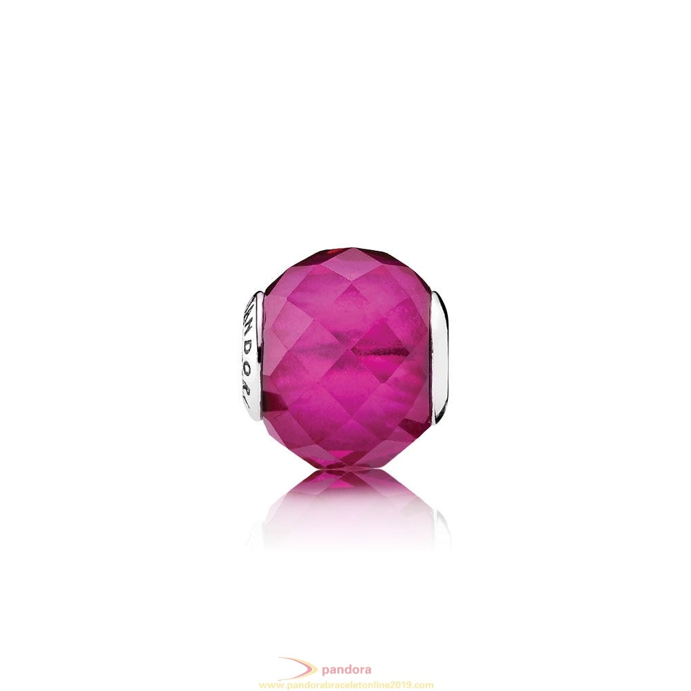 Find Pandora Jewelry Pandora Essence Happiness Charm Synthetic Ruby