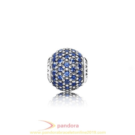 Find Pandora Jewelry Pandora Essence Peace Charm Blue Crystal
