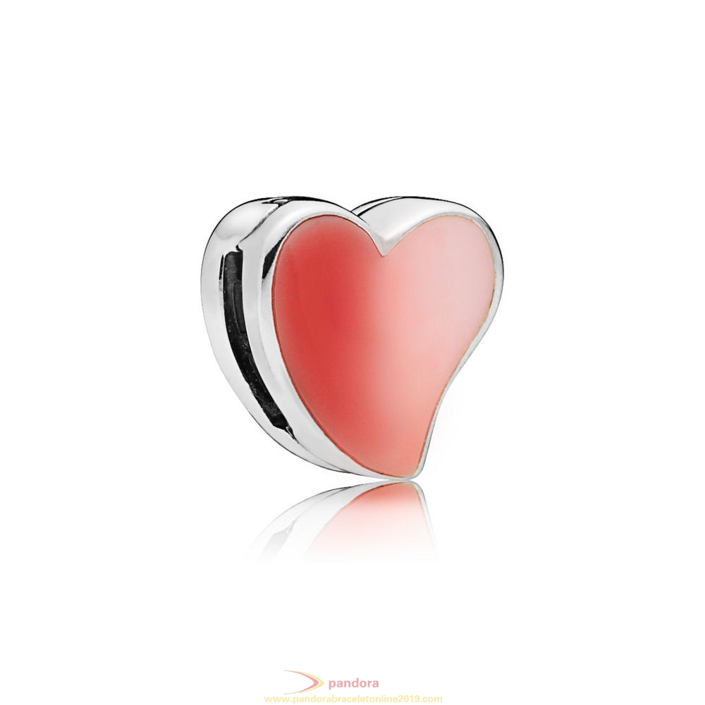 Find Pandora Jewelry Pandora Reflexions Asymmetric Heart Of Love Clip Charm
