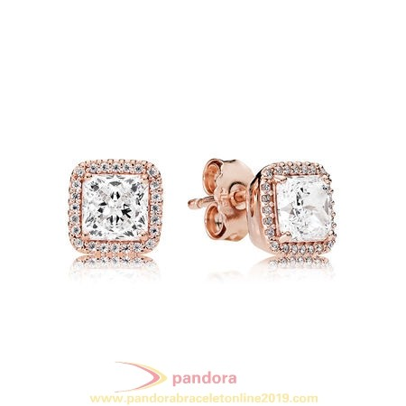 Find Pandora Jewelry Pandora Earrings Timeless Elegance Stud Earrings Pandora Rose Clear Cz