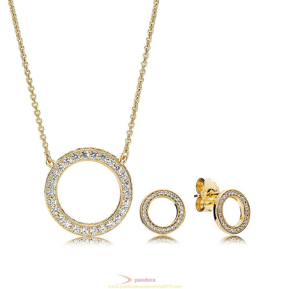 Find Pandora Jewelry Pandora Shine Forever Pandora Necklace And Earring Set