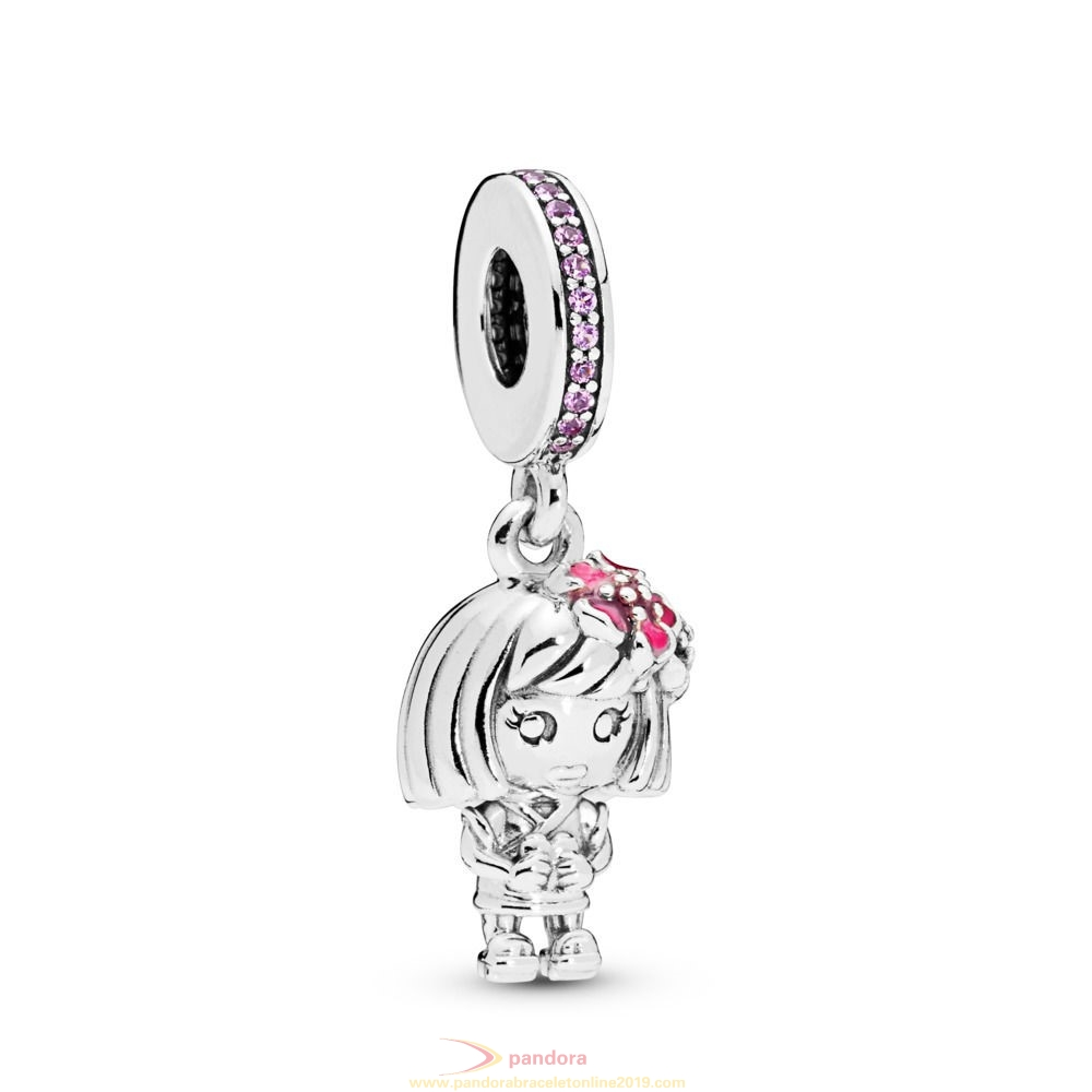 Find Pandora Jewelry Chinese Flower Girl Charm