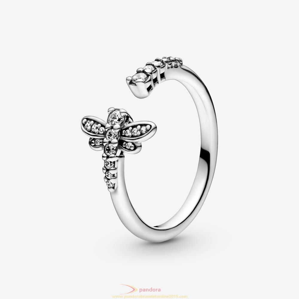 Find Pandora Jewelry Sparkling Dragonfly Open Ring