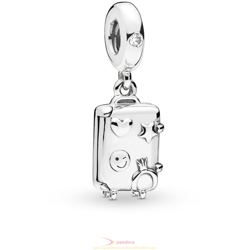 Find Pandora Jewelry Suitcase Hanging Charm