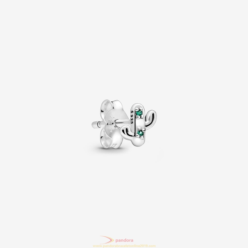 Find Pandora Jewelry My Lovely Cactus Single Stud Earring