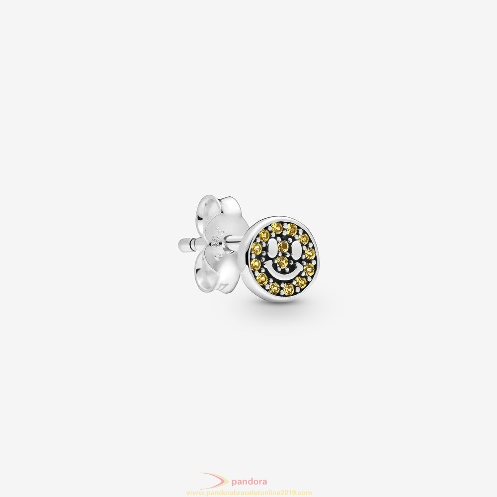 Find Pandora Jewelry My Smile Single Stud Earring