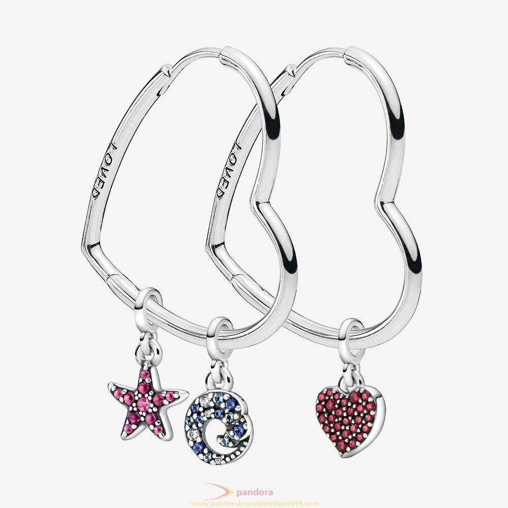 Find Pandora Jewelry Symbols Of You Earring & Charms Set