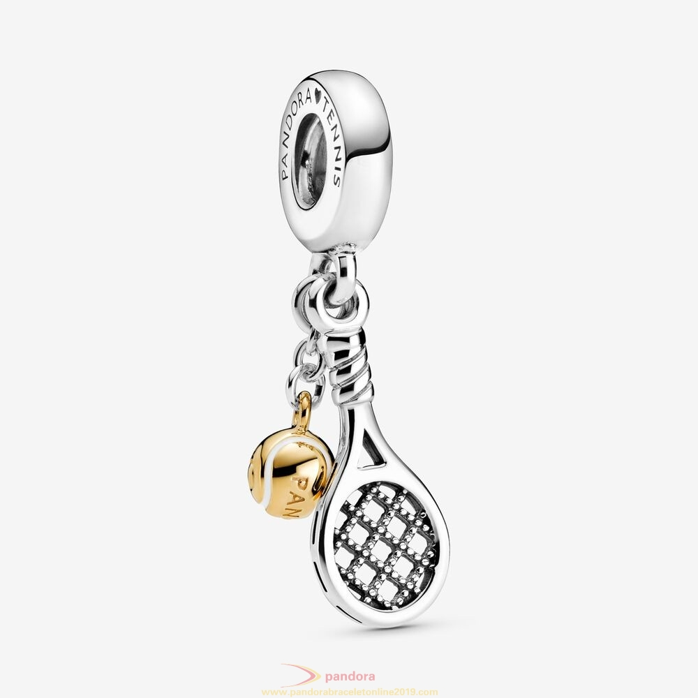 Find Pandora Jewelry Tennis Racket And Ball Dangle Charm