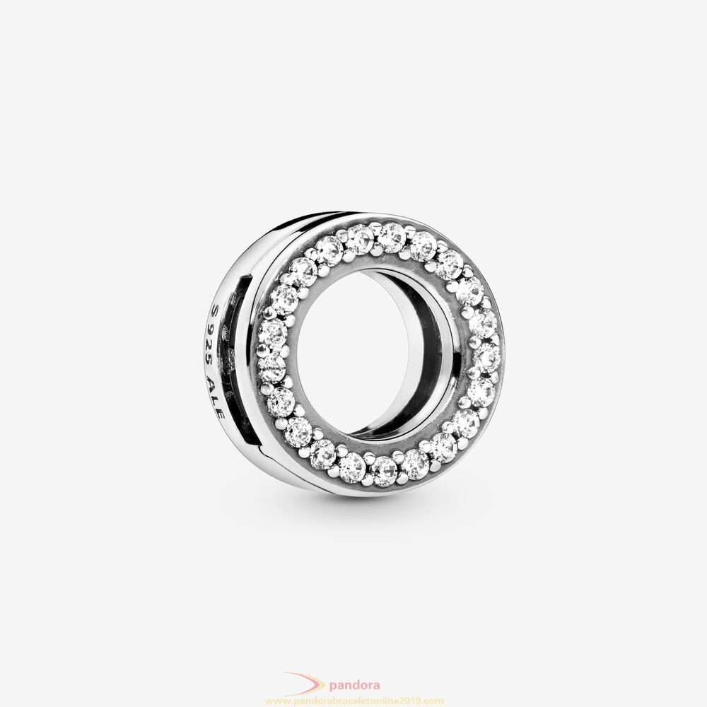 Find Pandora Jewelry Circle Of Pavé Clip Charm
