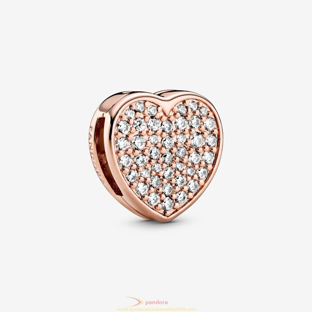 Find Pandora Jewelry Sparkling Heart Sketch Clip Charm