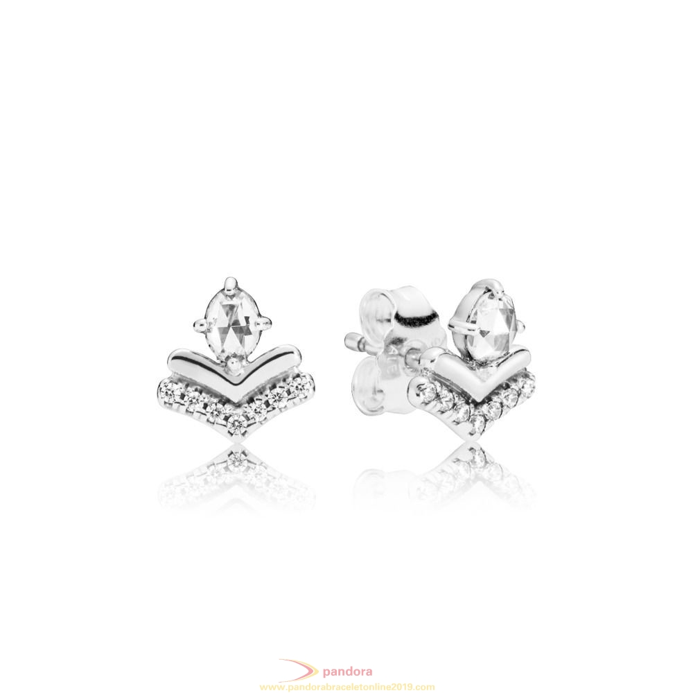 Find Pandora Jewelry Classic Wishes Earring Studs