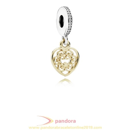 Find Pandora Jewelry Pandora Pendant Charms Magnificent Heart Pendant Charm Clear Cz