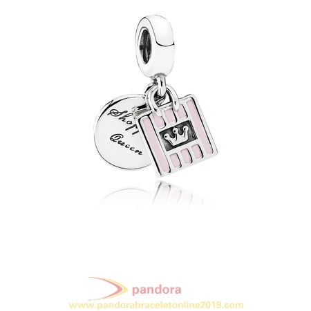 Find Pandora Jewelry Pandora Pendant Charms Shopping Queen Pendant Charm Soft Pink Enamel