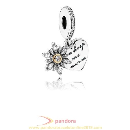 Find Pandora Jewelry Pandora Pendant Charms Snowflake Heart Pendant Charm Clear Cz