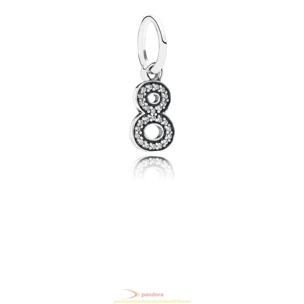 Find Pandora Jewelry Pandora Pendant Charms Symbol Of Infinity Pendant Charm Clear Cz