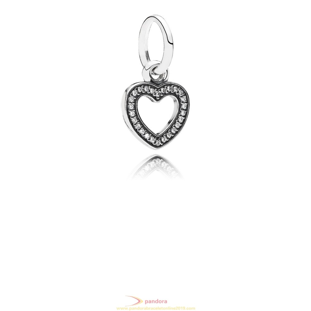 Find Pandora Jewelry Pandora Pendant Charms Symbol Of Love Pendant Charm Clear Cz