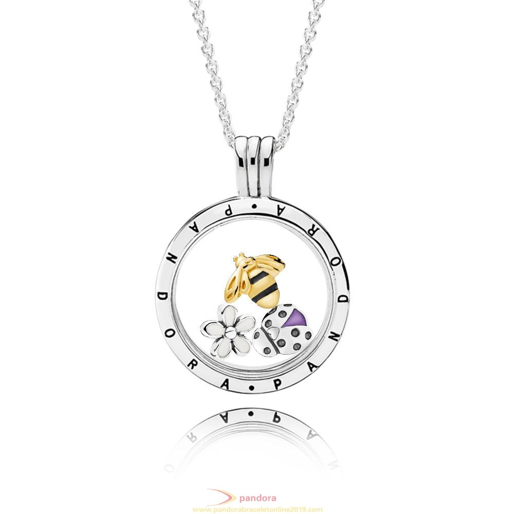Find Pandora Jewelry Magical Meadow Floating Locket Gift Set