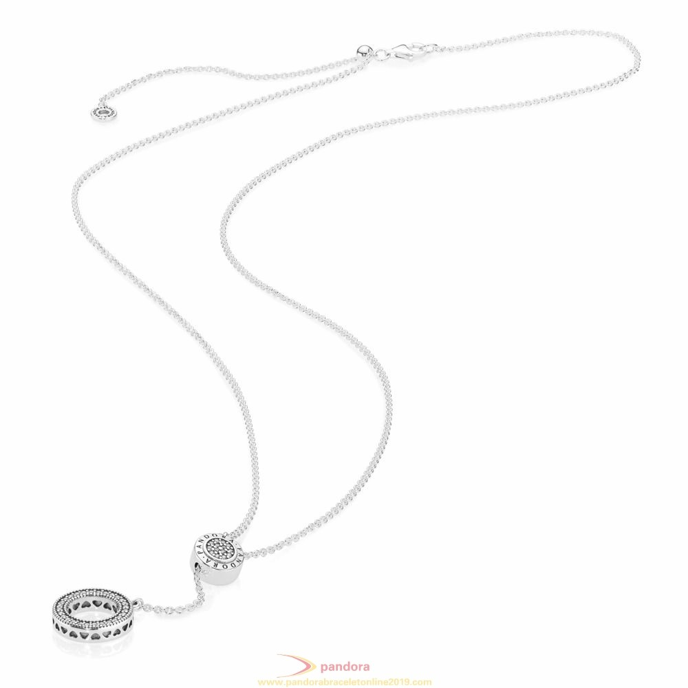 Find Pandora Jewelry Pandora Logo Necklace