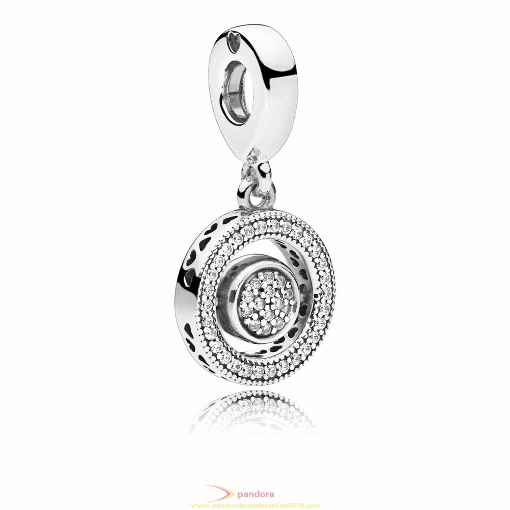 Find Pandora Jewelry Spinning Hearts Of Pandora Hanging Charm