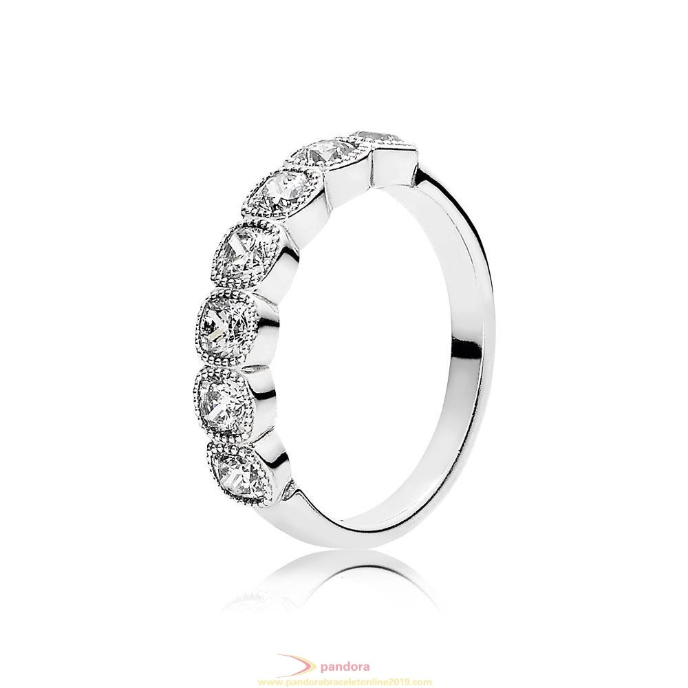 Find Pandora Jewelry Pandora Rings Alluring Cushion Ring Clear Cz