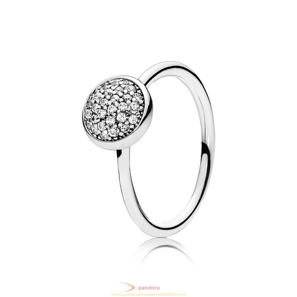 Find Pandora Jewelry Pandora Rings Dazzling Droplet Ring Clear Cz