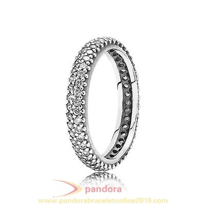Find Pandora Jewelry Pandora Rings Inspiration Within With Clear Cz Pave 925 Silver Circle Ring