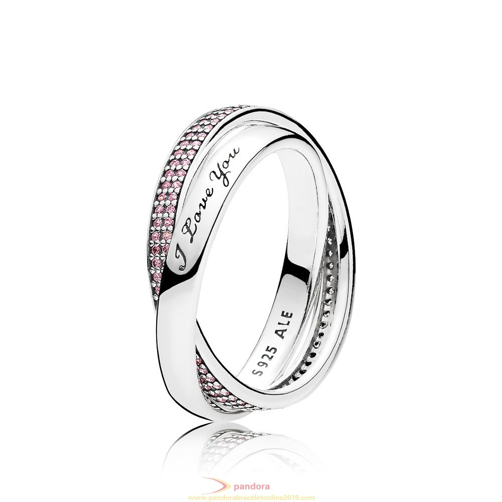 Find Pandora Jewelry Pandora Rings Sweet Promise Ring Pink Cz