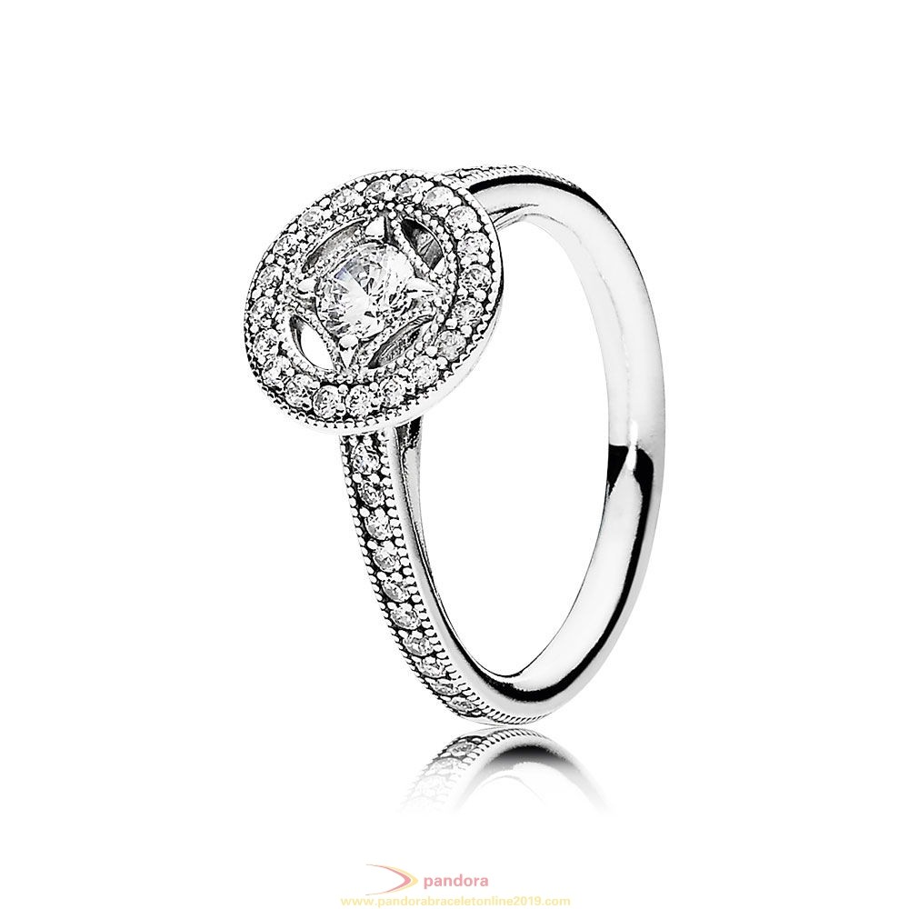 Find Pandora Jewelry Pandora Rings Vintage Allure Ring Clear Cz